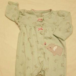 3/$15 Child of Mine snap up baby pajamas